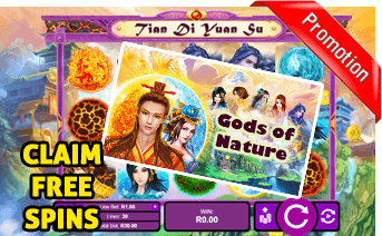 New Gods of Nature Slot Play Now With Free Spins Bonuses