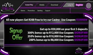 White Lotus Casino Running Generous Promotions