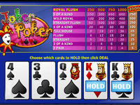 Genesis Casino Video Poker