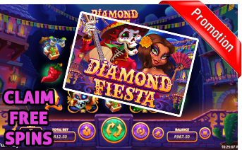 New Diamond Fiesta Slot Play Now With Free Spins Bonuses
