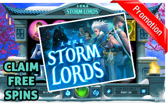 New Storm Lords Slot Play Now With Free Spins Bonuses