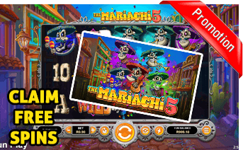 New The Mariachi 5 Play Now With Free Spins Bonuses