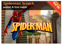 Play Spider-Man Scratch Card