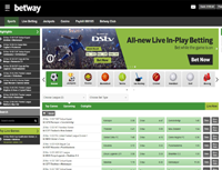 Online Sports Betting - Betway