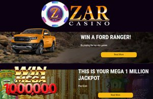 Check out the August Action at ZAR Casino