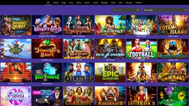 Casino Purple Slot Games