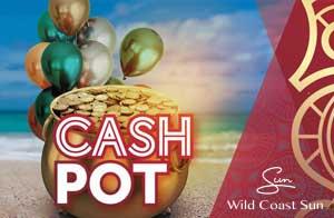 Grab Your Cash Pot Every Sunday at Wild Coast Sun Casino