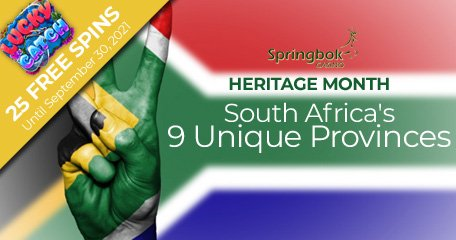 Springbok Casino Celebrates Heritage Month by Saluting SA Provinces
