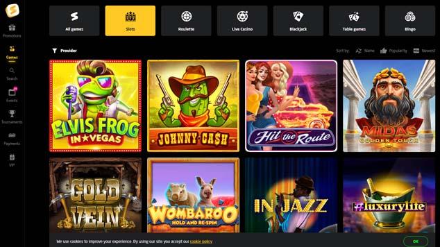 StayCasino Slot Games
