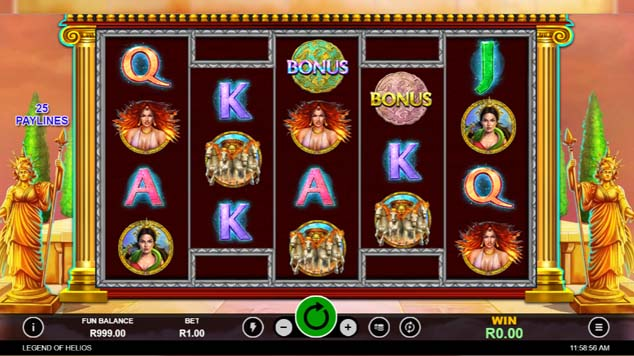 Legend of Helios Slot Game