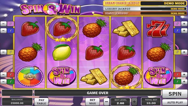 Spin and Win Slot Game